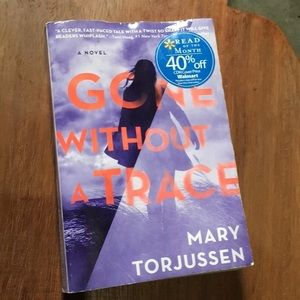 Gone without a trace by Mary Torjussen book novel